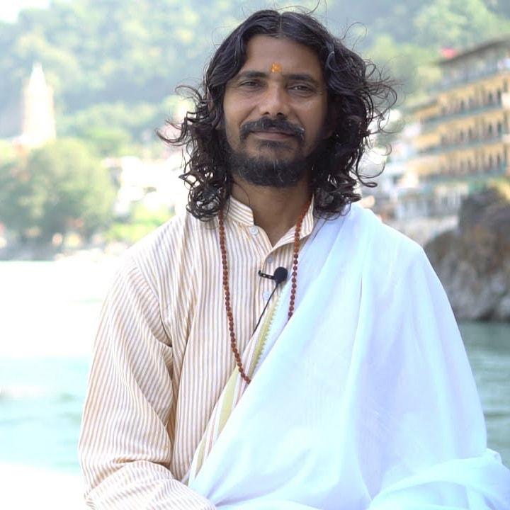 Yogi at Rishikesh Yoga Club