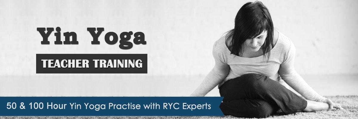 50, 100 Hour Yin Yoga Teacher Training India