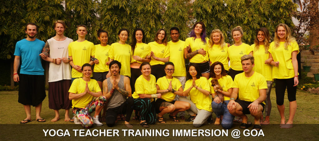 Yoga Teacher Training in Goa 2019 Batch